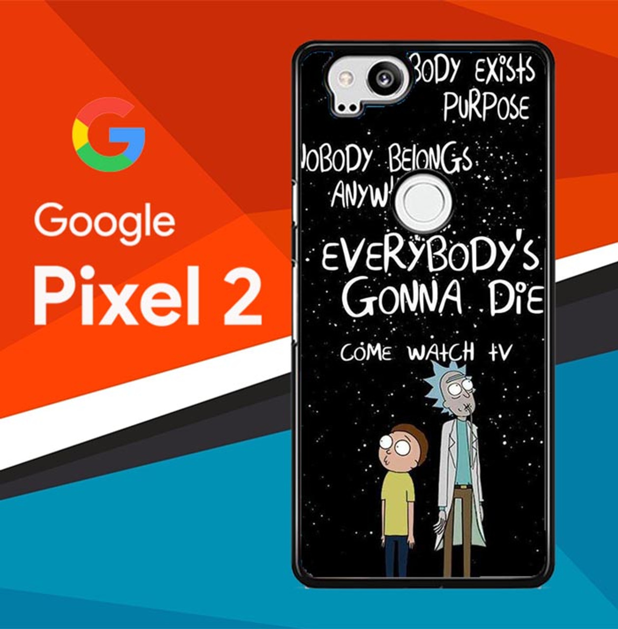 A Mini Rick And Morty Wallpaper Dump Q0219 Google Pixel 2 Case