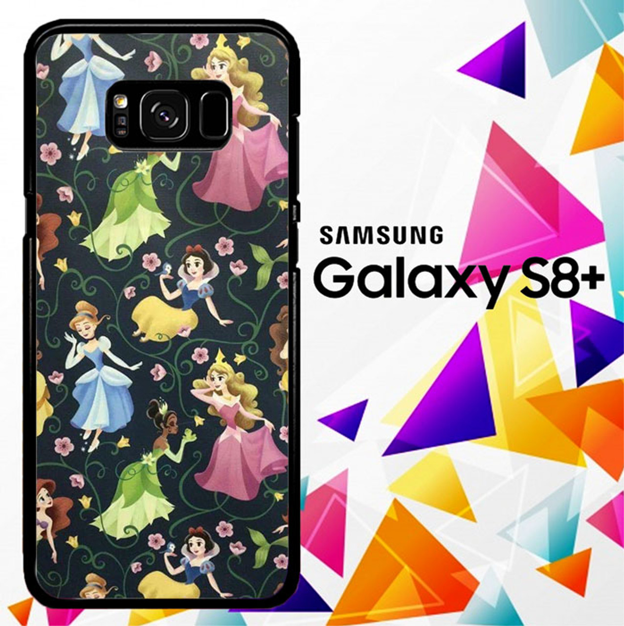best service 8e959 31b0e Beautiful Disney Princess S0548 Samsung Galaxy S8 Plus Case