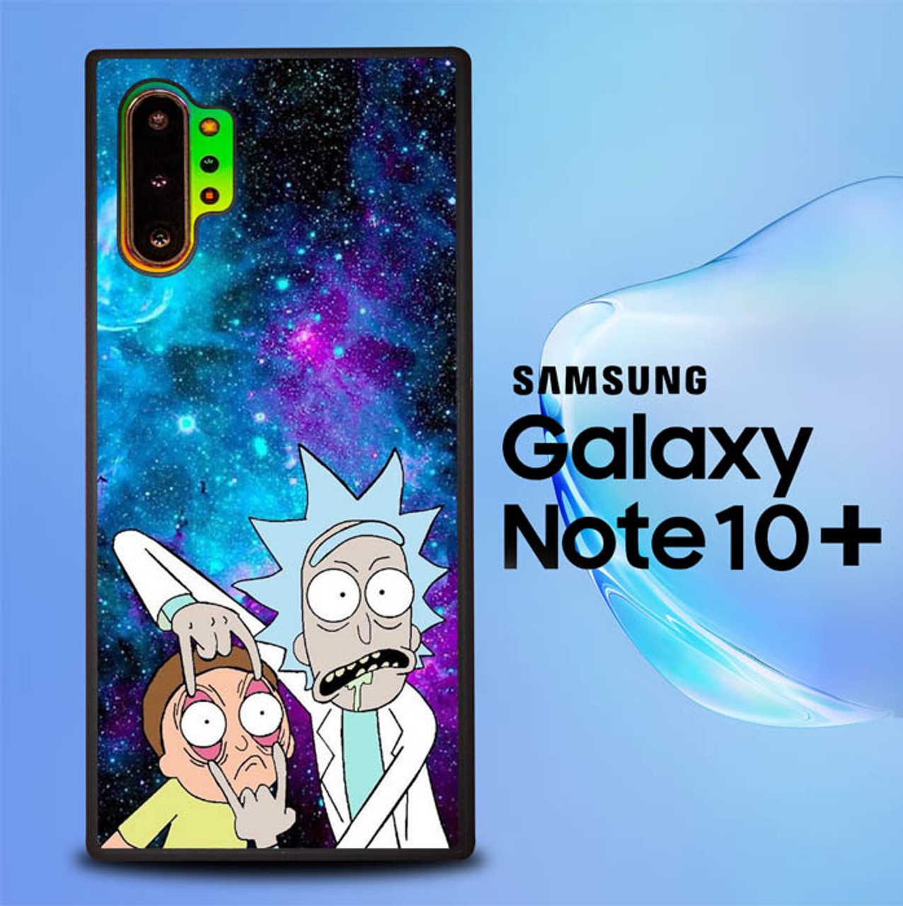 Rick And Morty Wallpaper Q0220 Samsung Galaxy Note 10 Plus Case