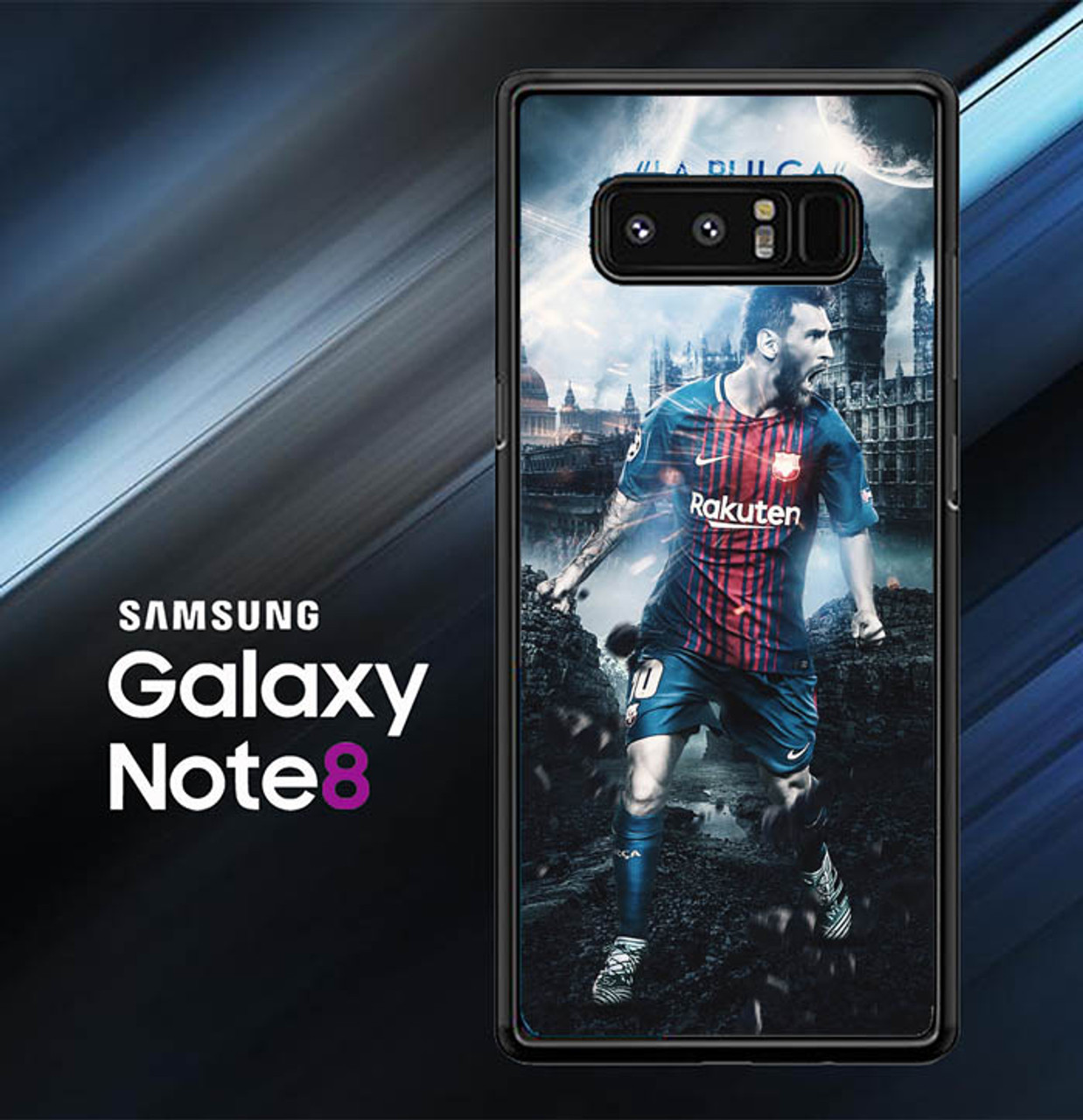Lionel Messi Wallpaper X7018 Samsung Galaxy Note 8 Case