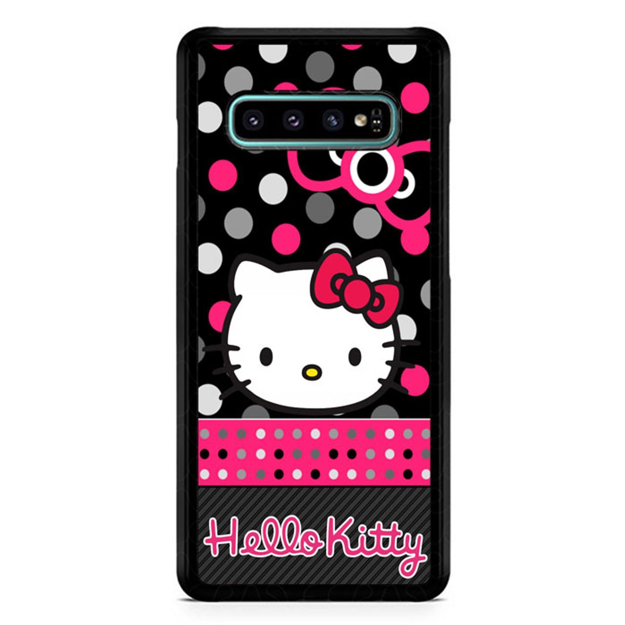 Hello Kitty Wallpaper X3248 Samsung Galaxy S10 Plus Premium Case