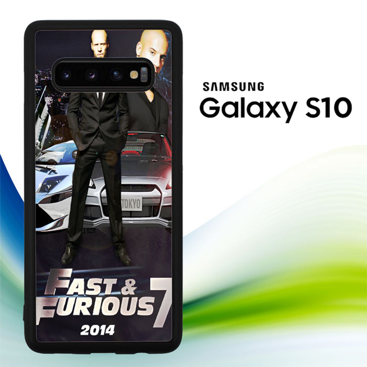 Fast And Furious 7 Wallpaper X0312 Samsung Galaxy S10 Case