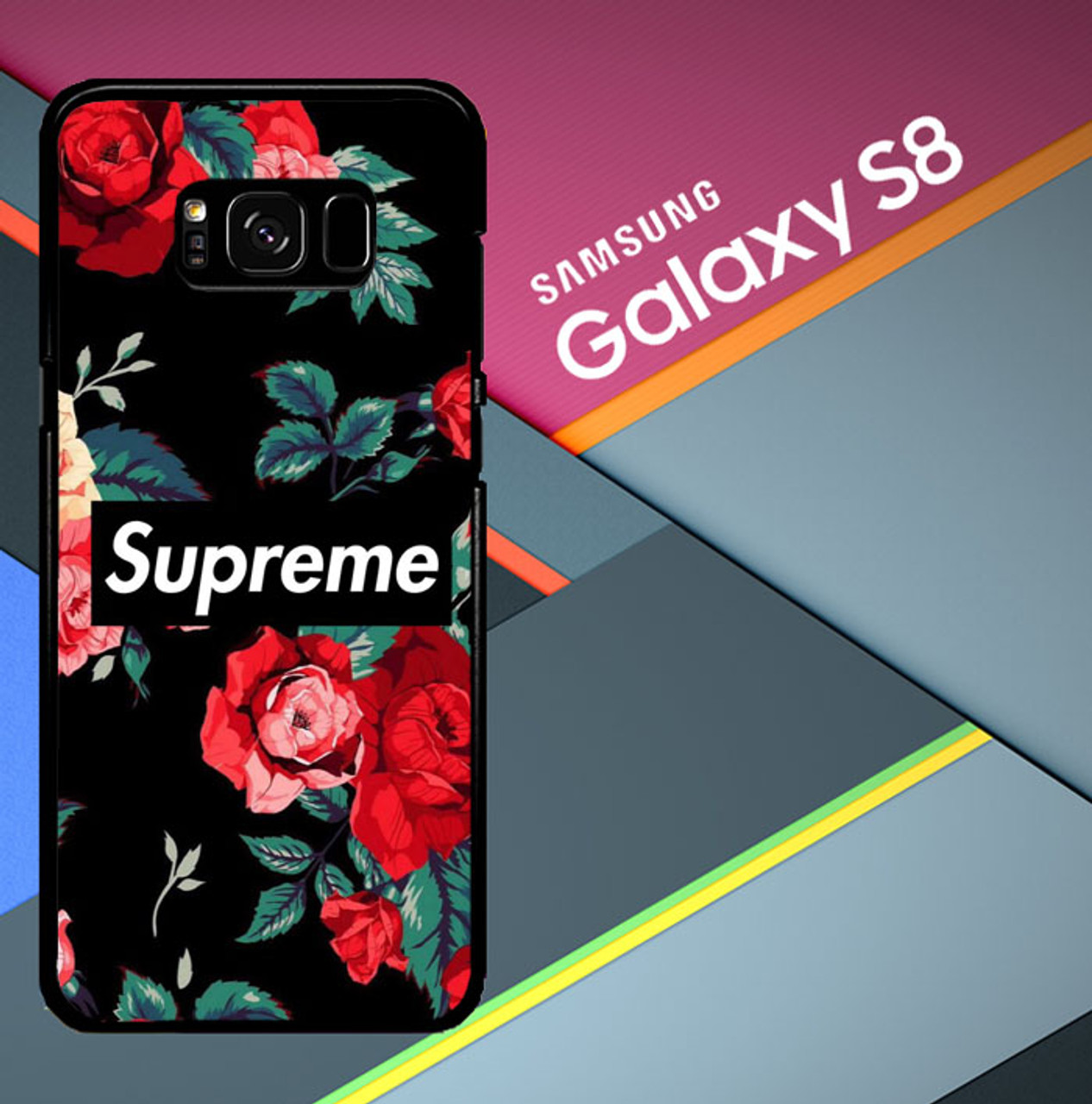 Supreme Wallpaper X8641 Samsung Galaxy S8 Case Flazzy Store