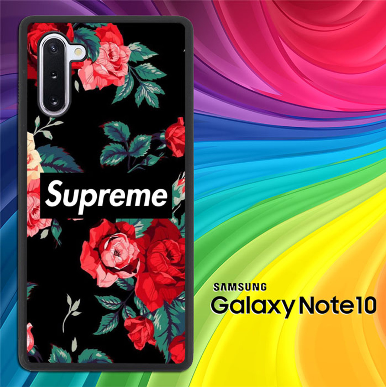 Supreme Wallpaper X8641 Samsung Galaxy Note 10 Case Flazzy Store