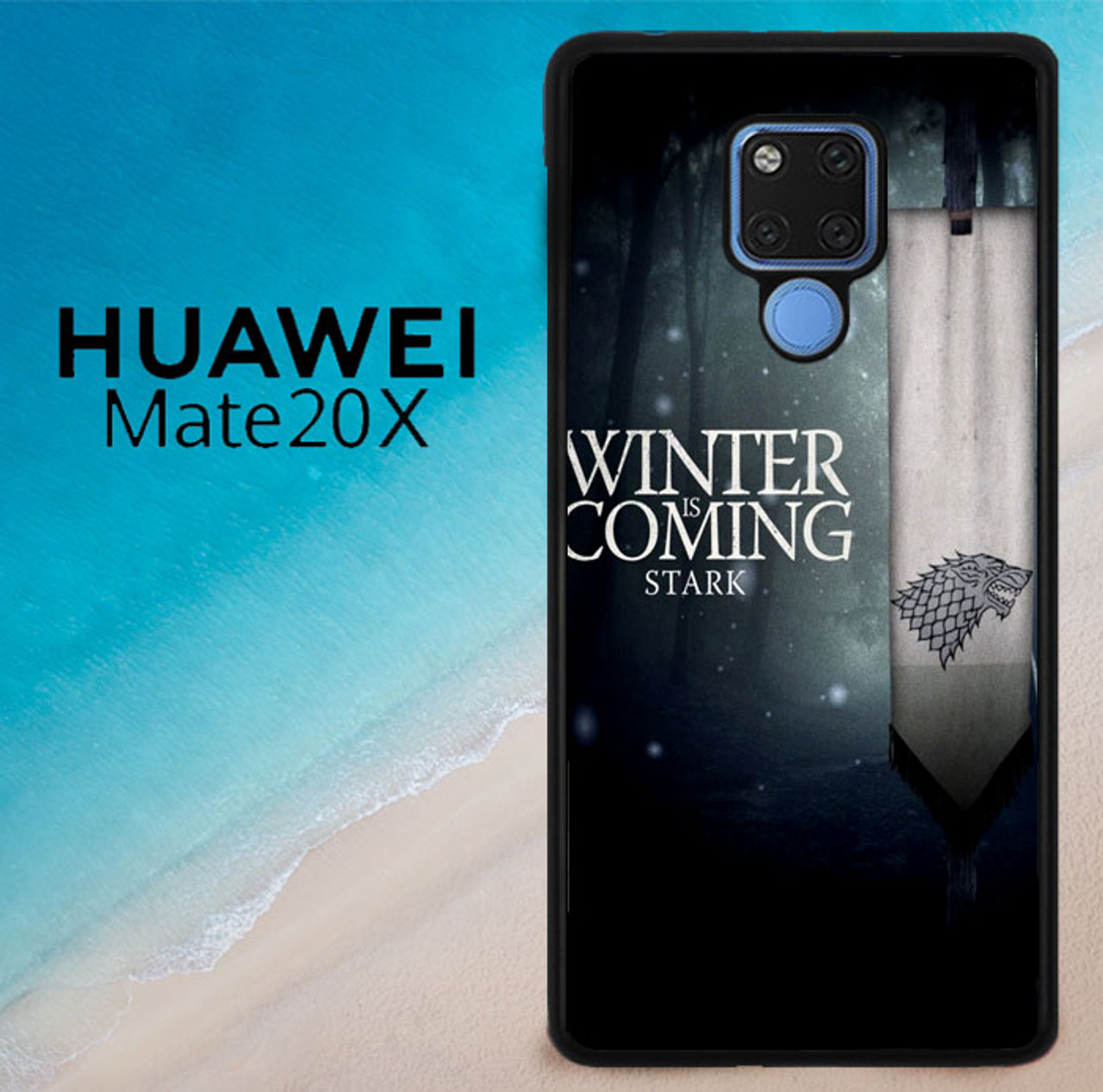 Game Of Thrones Winter Is Coming Z4363 Huawei Mate 20 X Case ...