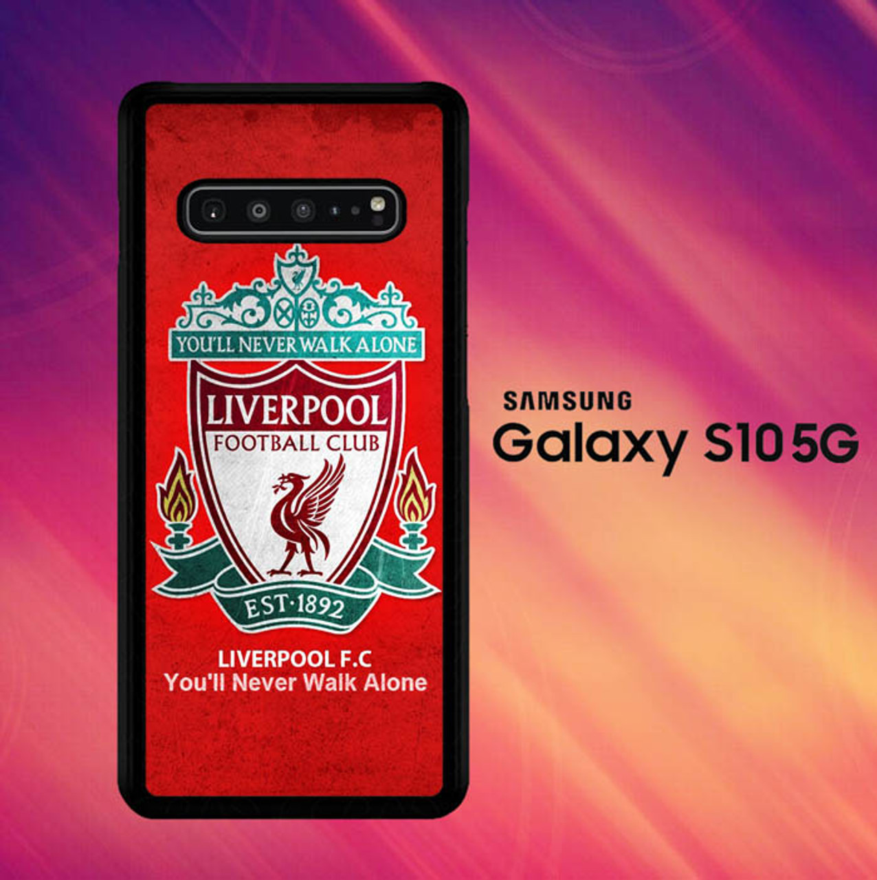 Liverpool Wallpaper O7656 Samsung Galaxy S10 Case Flazzy Store