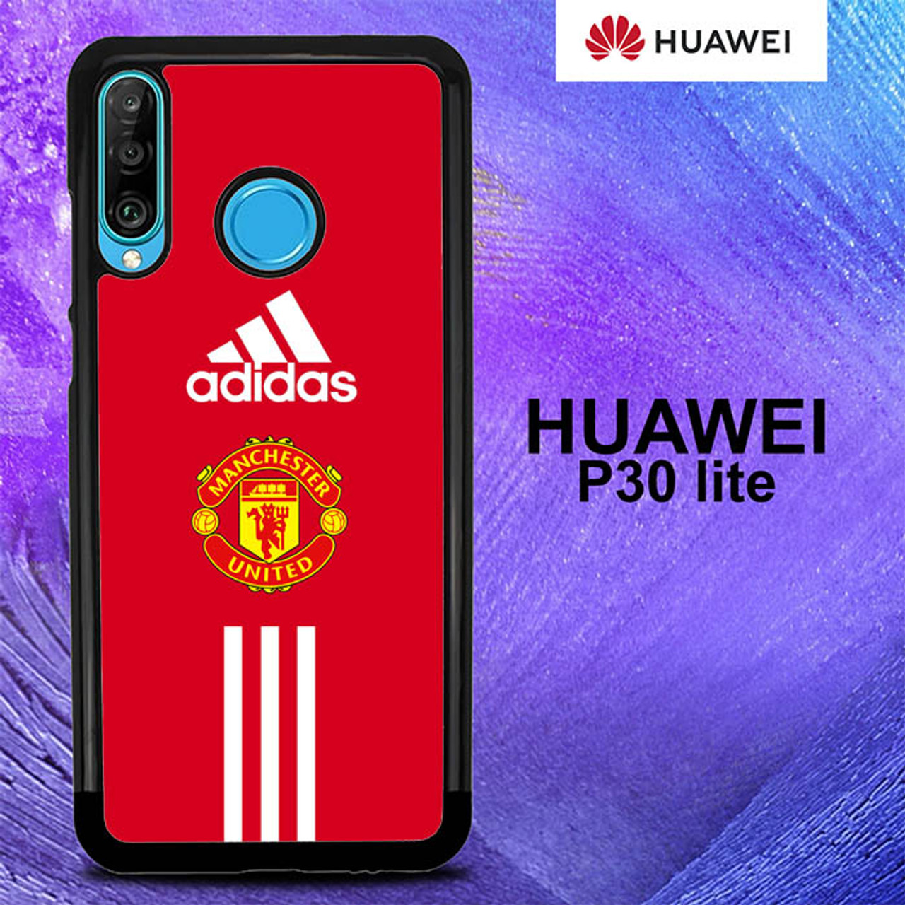 Manchester United Iphone Wallpaper O7682 Huawei P30 Lite Case Flazzy Store