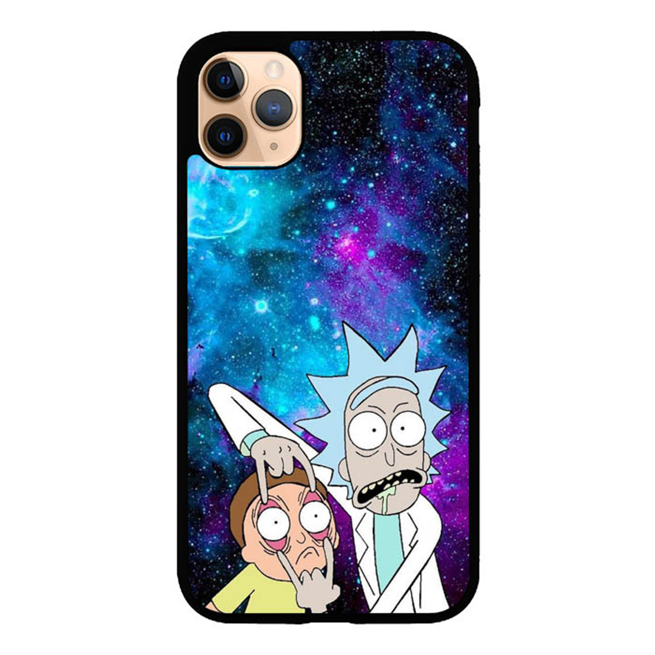 Rick And Morty Wallpaper Q0220 Iphone 11 Pro Max Case Flazzy Store