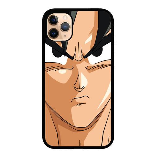 Goku Face Wallpaper Dragon Ball Z Cartoon E1187 Iphone 11 Case