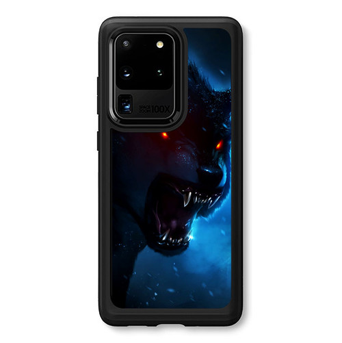 Wolf Wallpaper L0470 Samsung Galaxy S20 Ultra 5g Case Flazzy Store