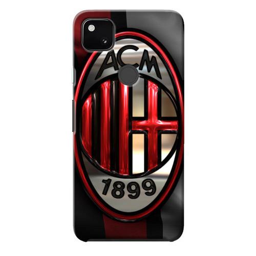Ac Milan Logo Football L0102 Google Pixel 4a Case Flazzy Store