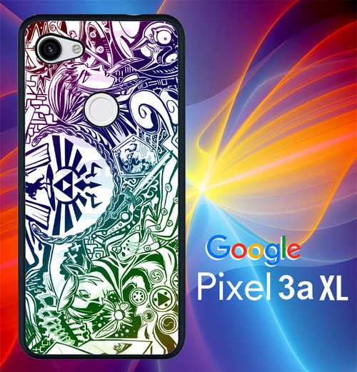 Inspired by Legend Zelda Case for Google Pixel 3A 3 XL 3A XL 2 XL Case Breath Wild Phone Cover Triforce G8