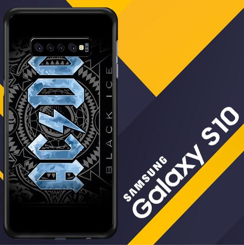 Acdc Logo Wallpaper Y1485 Samsung Galaxy S10 Case Flazzy Store