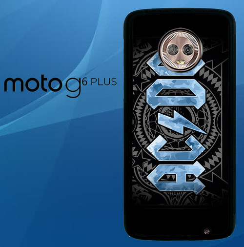 Acdc Rock Band Motorola Moto G6 Play Case Flazzy Store