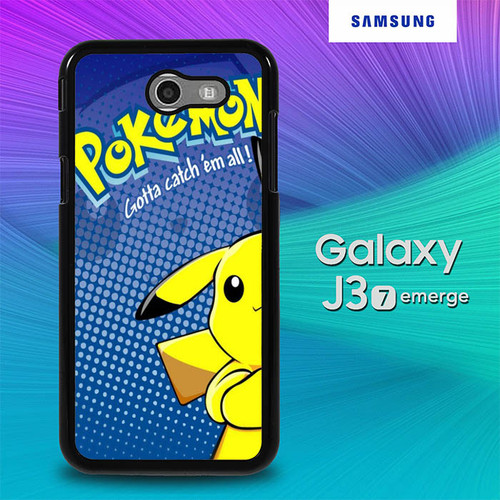 Pokemon Go Wallpaper O7477 Samsung Galaxy J3 Emerge J3 Eclipse Amp Prime 2 Express Prime 2 2017 Sm J327 Case Flazzy Store