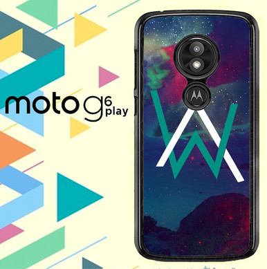 Alan walker galaxy logo z3899 motorola moto g6 play case flazzy store - Alan walker logo galaxy ...