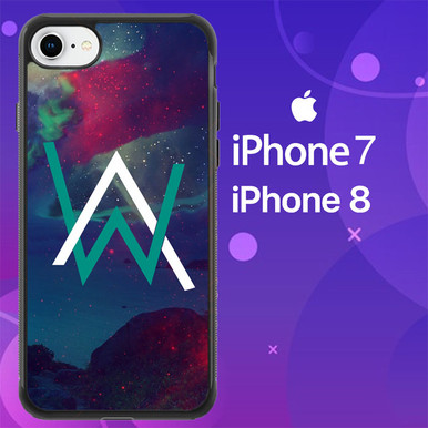 Alan walker galaxy logo z3899 iphone 7 iphone 8 case flazzy store - Alan walker logo galaxy ...
