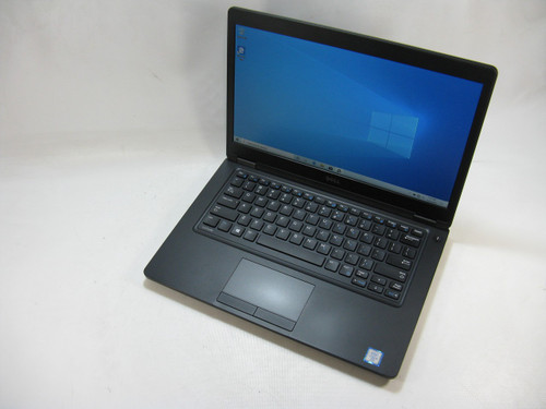 "Dell 5480 14"" Laptop 2.4GHz Intel Core i5 6th Gen 8GB RAM 256 GB SSD Windows 10 Pro Grade B"