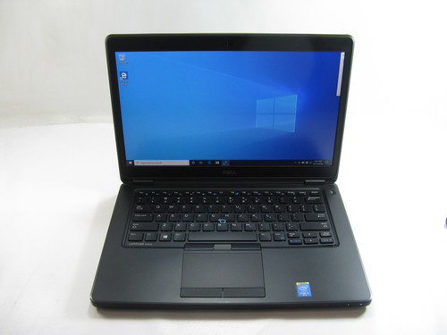 "Dell E5450 14"" Laptop 2.3GHz Core i5 5th Gen 8GB RAM 500 GB HDD Windows 10 Pro Grade A"