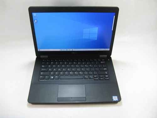 "Dell Latitude E5470 14.0"" Laptop 2.40 Ghz i5-6300U 8GB DDR4 RAM 500GB HDD Windows 10 Pro Grade B"