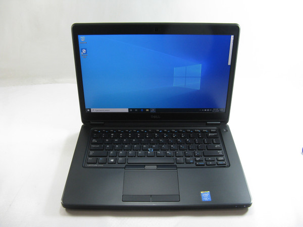 "Dell E5450 14"" Laptop 2.3GHz Core i5 8GB RAM 500 GB HDD Windows 10 Pro Grade B"