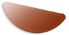 Copper Blank Segment Stamped Shape for Enamelling & Other Crafts