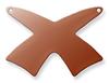Copper Swords, crossed - Pack of 10 (889-CU)