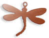 Copper Blank Dragonfly Stamped Shape for Enamelling & Other Crafts