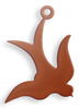 Copper Blank Swallow Stamped Shape for Enamelling & Other Crafts