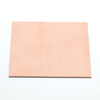Square copper sheet for enamelling