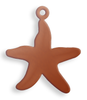 Starfish, small, with lug - 10 Pack (Copper Blank 628)