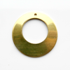 Brass Disc, offset hole- Pack of 10 (892-BR)