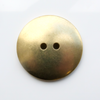 Brass Button, 22mm domed- Pack of 10 (250-BR)