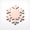 Copper Snowflake - Pack of 10 (445-CU)
