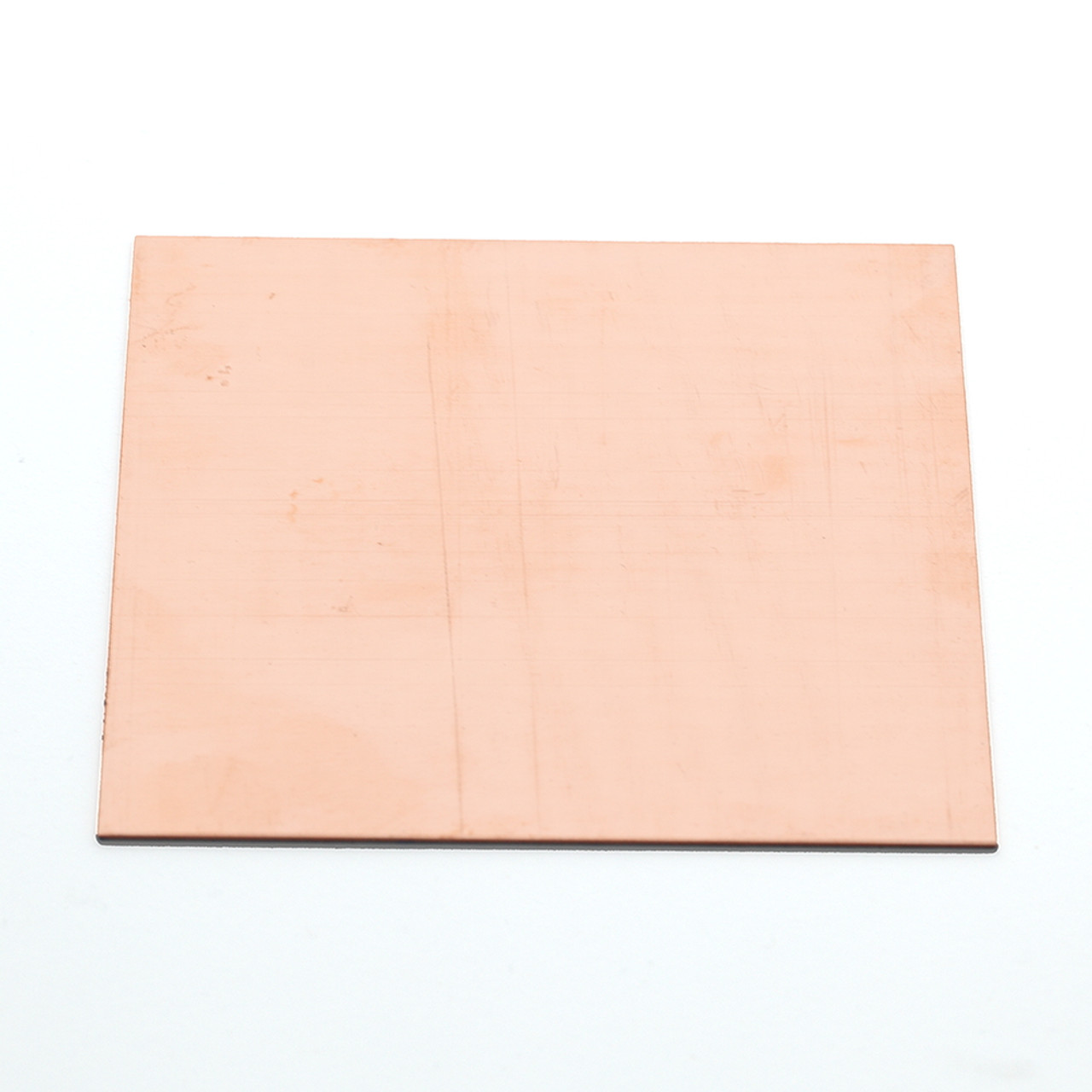 Square copper sheet for enamelling & other crafts