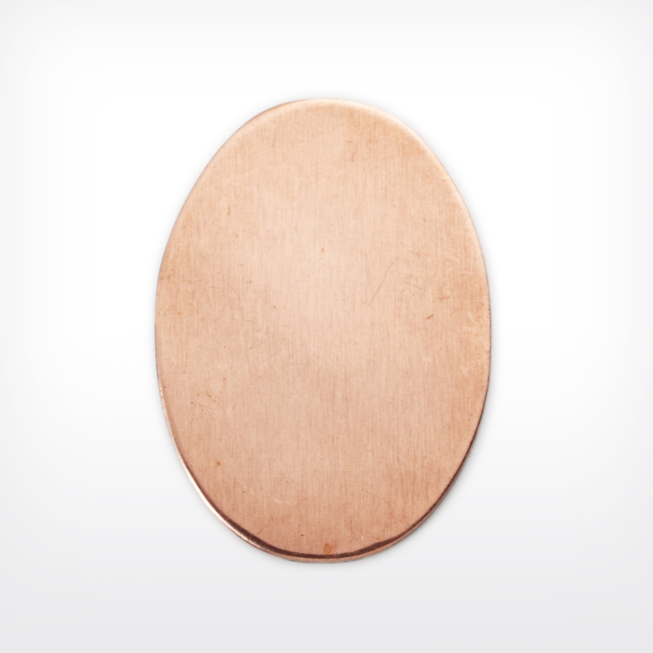 Copper Oval, 30x22mm - Pack of 10 (706-CU)