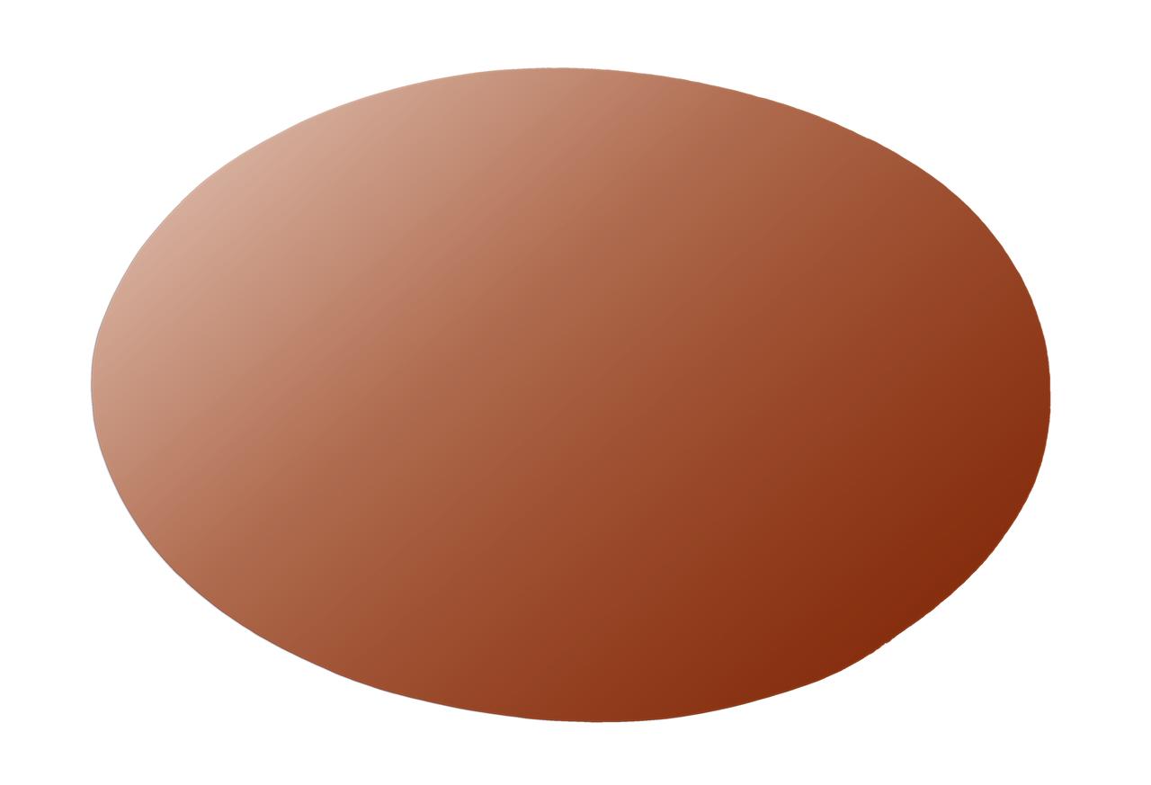 Copper Oval, 150x100mm - Pack of 1 (777-CU)