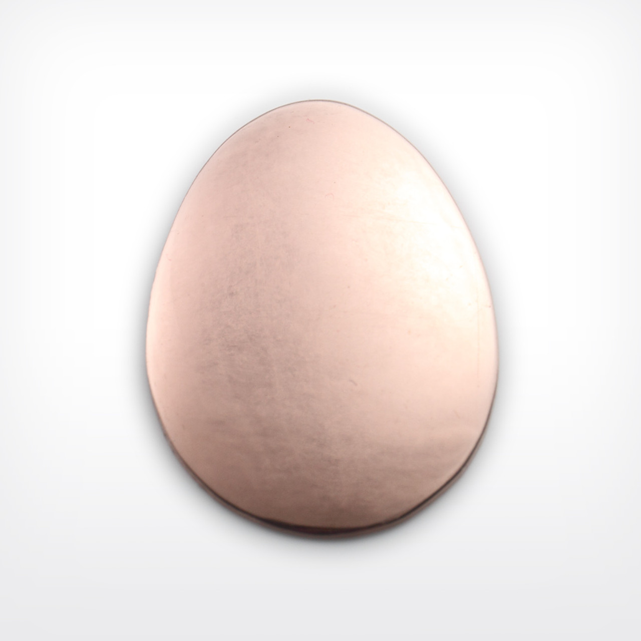 Copper Blank Egg Stamped Shape for Enamelling & Other Crafts