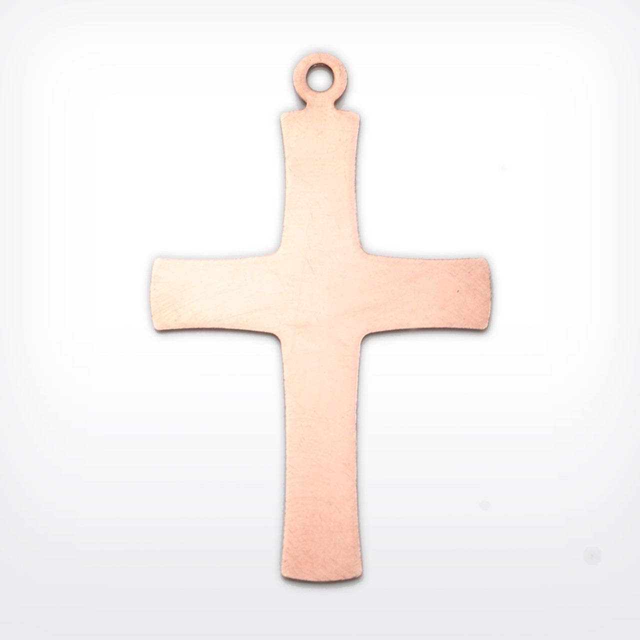 Copper Blank Cross Stamped Shape for Enamelling & Other Crafts