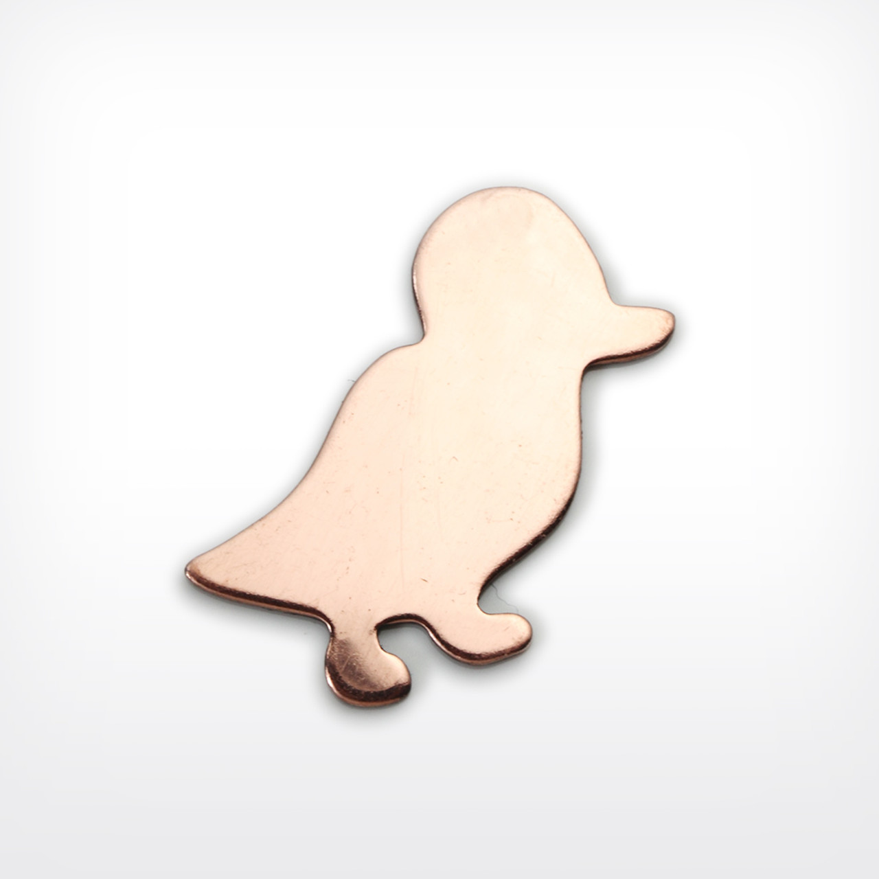 Copper Blank Duck Stamped Shape for Enamelling & Other Crafts