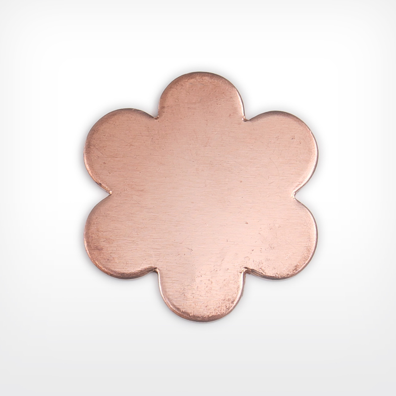 Copper Blank Daisy Shape for Enamelling & Other Crafts