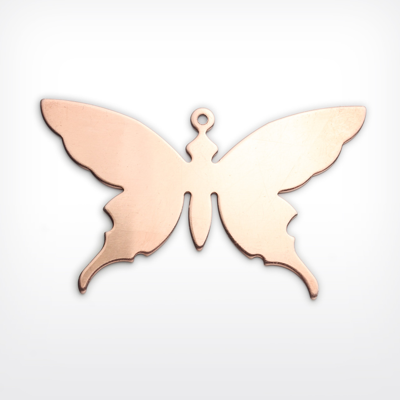 Copper Blank Butterfly Stamped Shape for Enamelling & Other Crafts