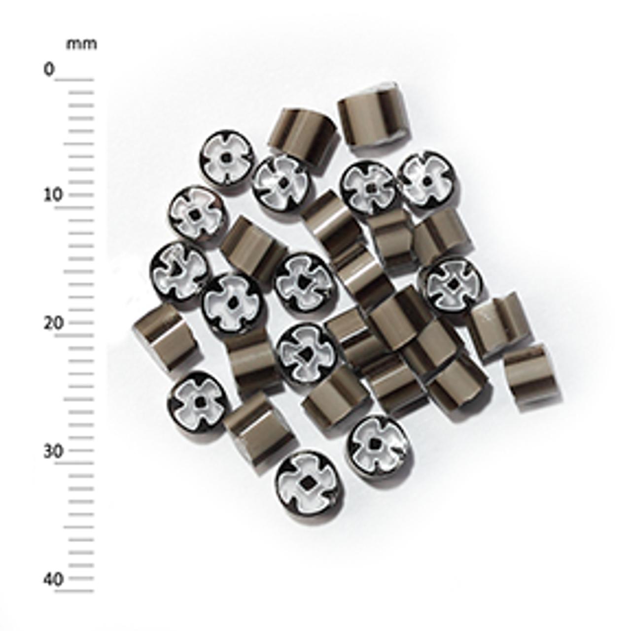 Millefiori - 50g pack (M060), brown, 4-5mm