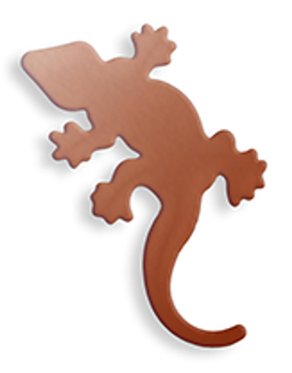 Copper Gecko, small - Pack of 10 (621-CU)