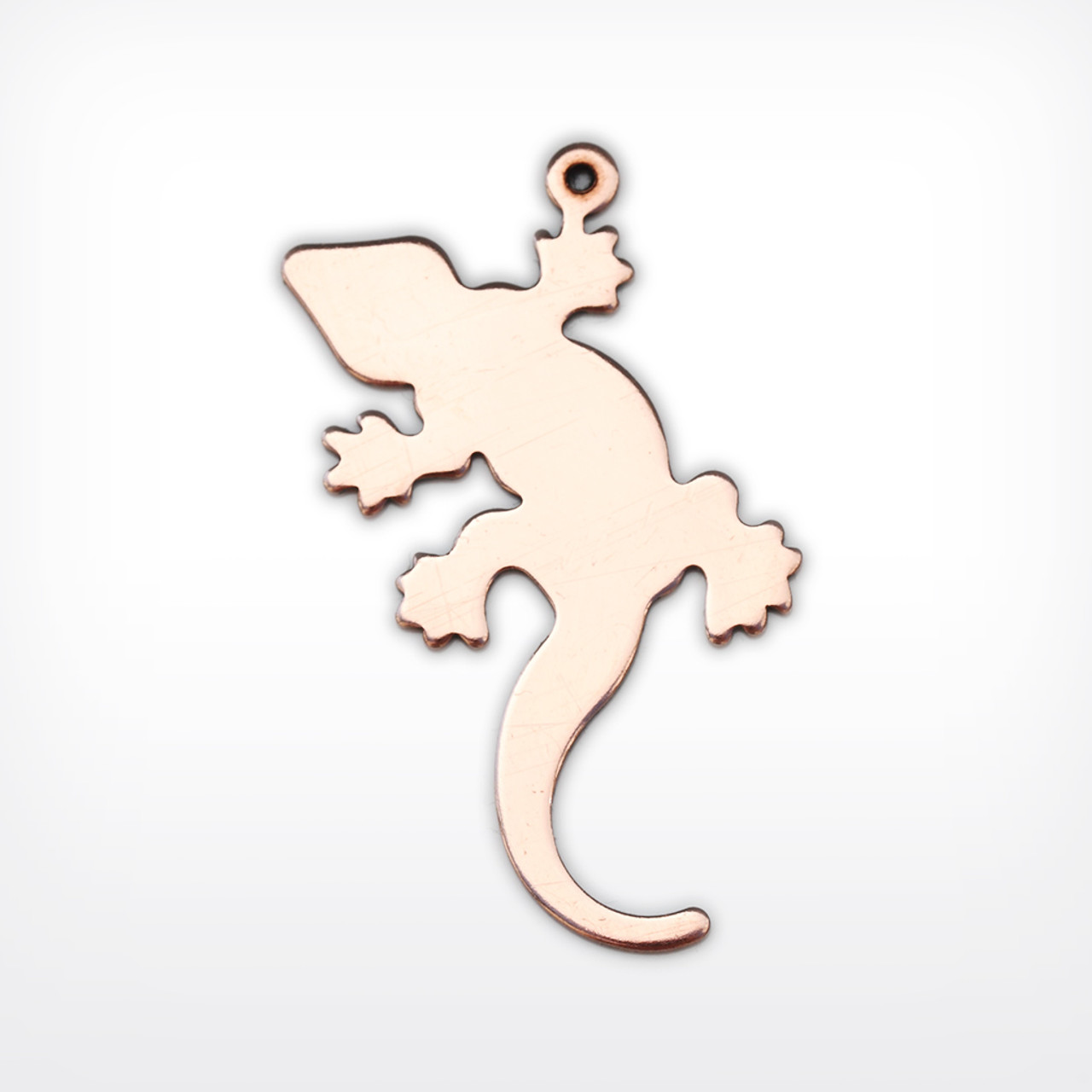 Copper Blank Gecko Stamped Shape for Enamelling & Other Crafts