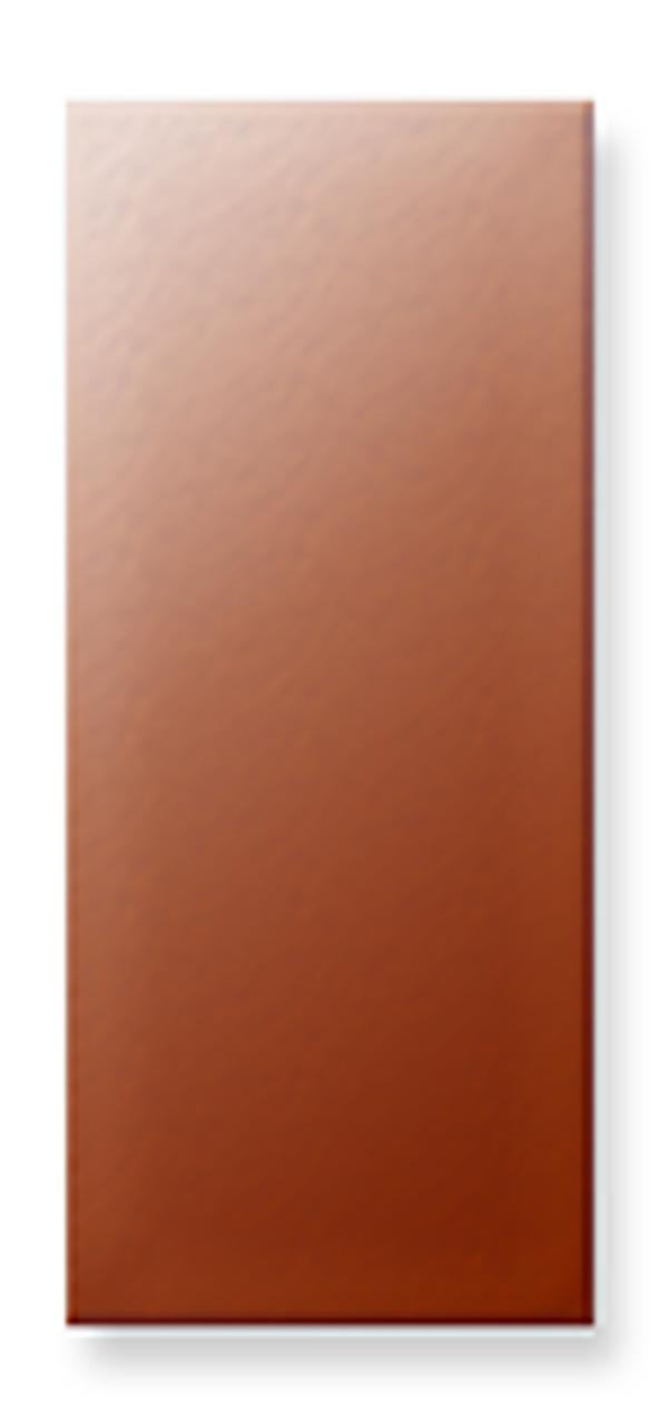 Copper Rectangle, 35x15mm with lug- Pack of 10 (360-CU)