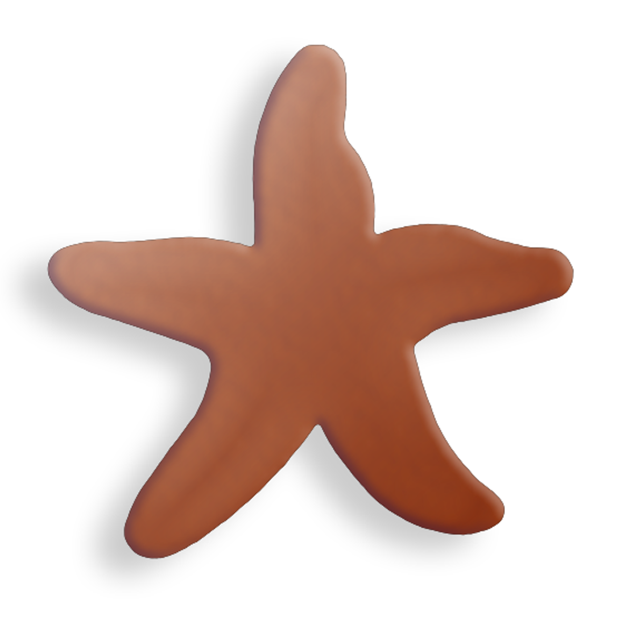 Copper Starfish, small - Pack of 10 (629-CU)