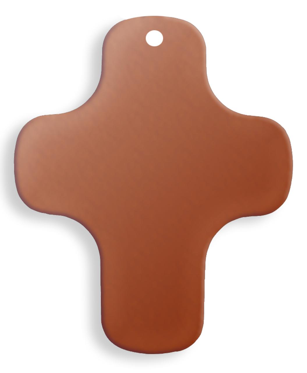 Copper Cross, plain - Pack of 10 (582-CU)