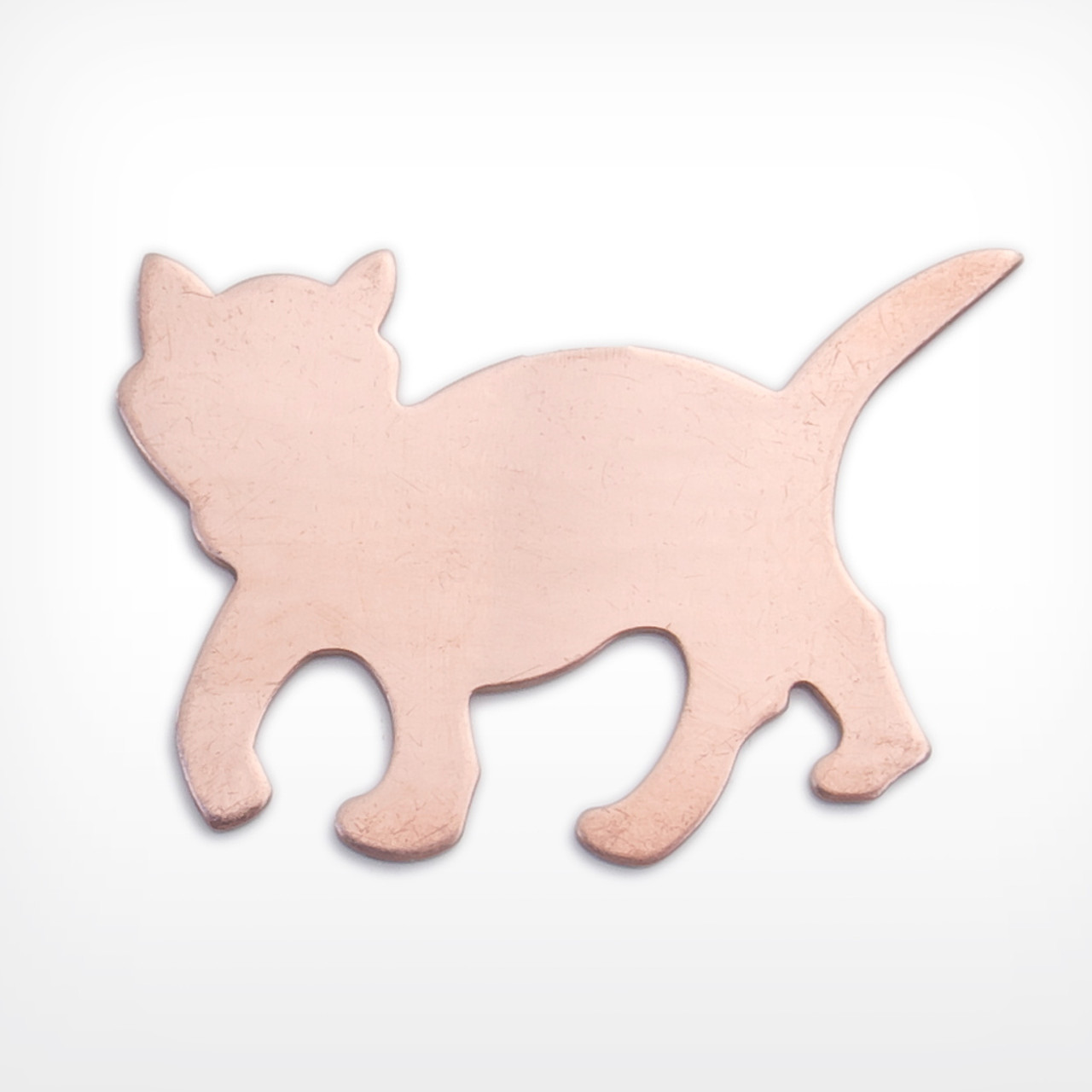 Cat, walking, large - 10 Pack (Copper Blank 404)