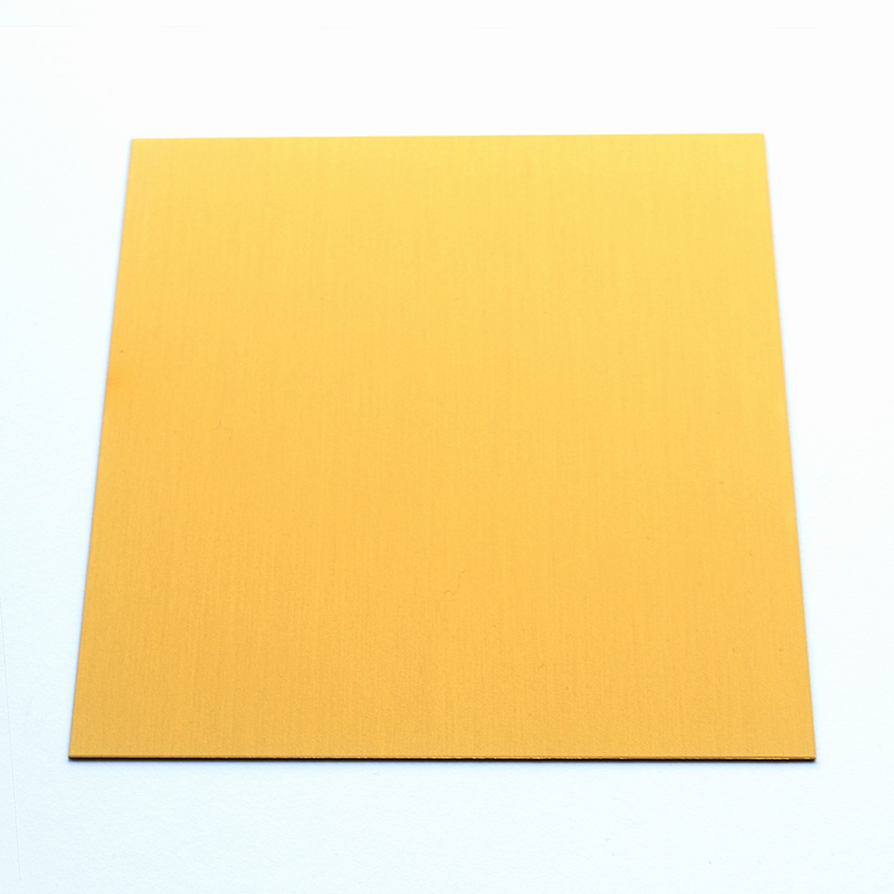 Anodised Aluminium Sheet, Gold